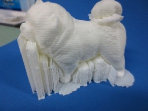 RapMan 3d printed dog